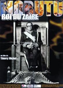 """Affiche du film """"Mobutu, roi du Zaïre"""""""