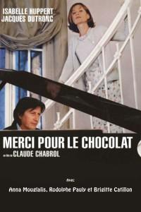 """Affiche du film """"Merci pour le chocolat"""""""