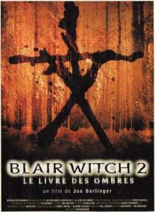 """Affiche du film """"Le projet Blair Witch 2 - Le livre des ombres"""""""