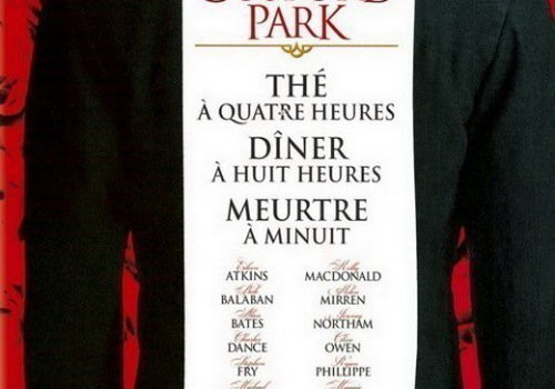 "Affiche du film ""Gosford Park"""