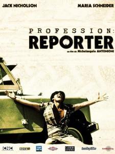 "Affiche du film ""Profession : reporter"""
