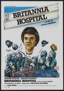 """Affiche du film """"Britannia Hospital"""""""