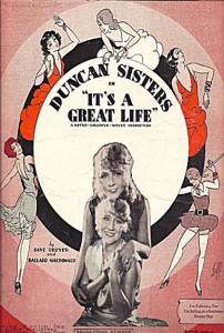 """Affiche du film """"It's a Great Life"""""""