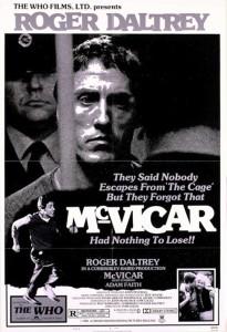 "Affiche du film ""McVicar"""