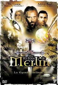 """Affiche du film """"Le retour de Merlin"""""""