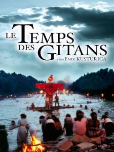"""Affiche du film """"Le Temps des gitans"""""""