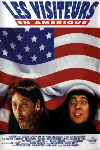 """Affiche du film """"Les Visiteurs en Amérique"""""""