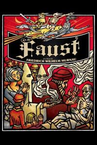"""Affiche du film """"Faust, une légende allemande"""""""