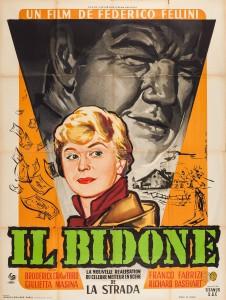 """Affiche du film """"Il bidone"""""""