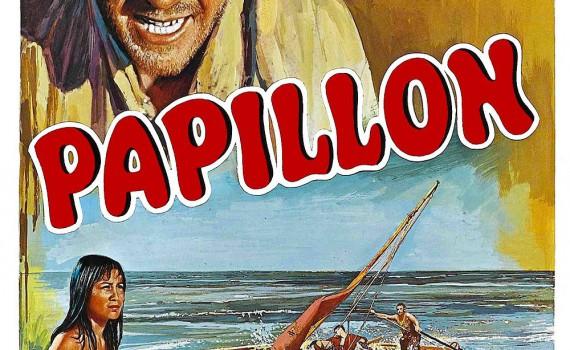"""Affiche du film """"Papillon"""""""