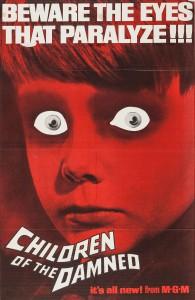 """Affiche du film """"Les Enfants des damnés"""""""