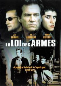 """Affiche du film """"La loi des armes"""""""