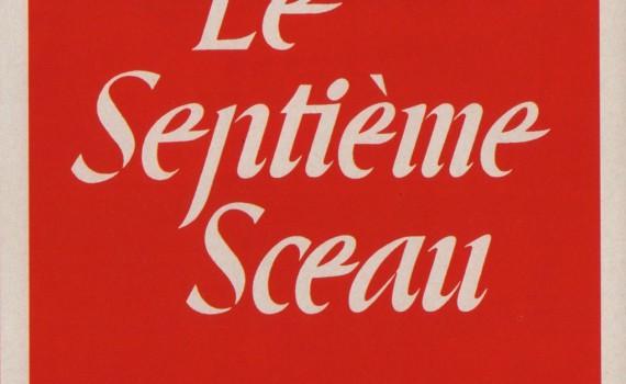 """Affiche du film """"Le Septième Sceau"""""""