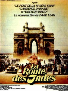 """Affiche du film """"La Route des Indes"""""""