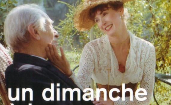 """Affiche du film """"Un dimanche à la campagne"""""""