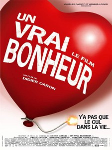 """Affiche du film """"Un Vrai bonheur"""""""