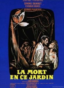 """Affiche du film """"La mort en ce jardin"""""""
