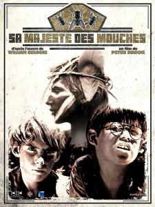 """Affiche du film """"Sa Majesté des mouches"""""""