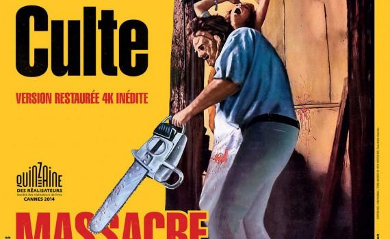 """Affiche du film """"Massacre à la tronçonneuse"""""""