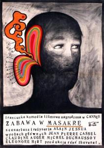 """Affiche du film """"Jeu de massacre"""""""