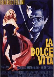 "Affiche du film ""La dolce vita"""