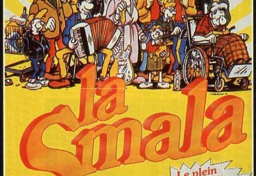 "Affiche du film ""La smala"""