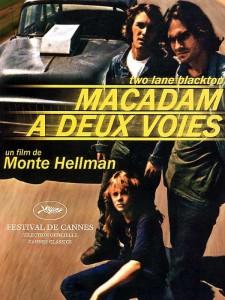 """Affiche du film """"Macadam à deux voies"""""""