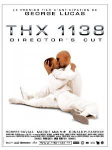 "Affiche du film ""THX 1138"""