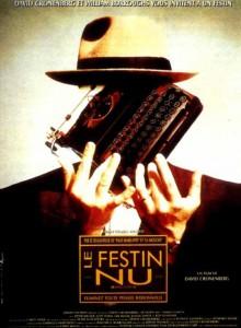 """Affiche du film """"Le festin nu"""""""