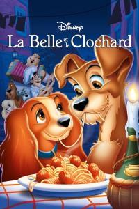 """Affiche du film """"La belle et le clochard"""""""