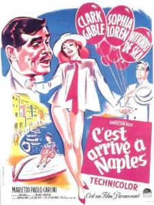 """Affiche du film """"C'est arrivé à Naples"""""""