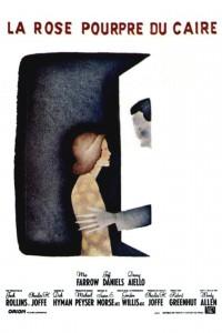 """Affiche du film """"La rose pourpre du Caire"""""""