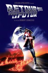 """Affiche du film """"Retour vers le futur"""""""