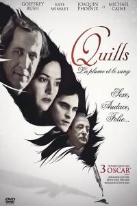 """Affiche du film """"Quills, la plume et le sang"""""""