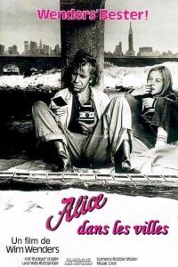 """Affiche du film """"Alice dans les villes"""""""