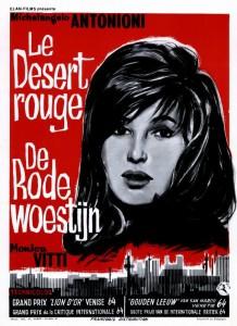 """Affiche du film """"Le Désert rouge"""""""