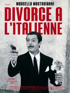 """Affiche du film """"Divorce à l'italienne"""""""