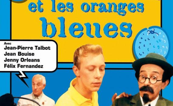 """Affiche du film """"Tintin et les oranges bleues"""""""