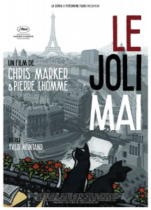 "Affiche du film ""Le joli mai"""