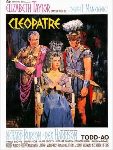 """Affiche du film """"Cléopâtre"""""""