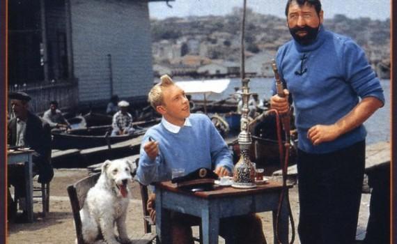 """Affiche du film """"Tintin et le Mystère de la Toison d'or"""""""