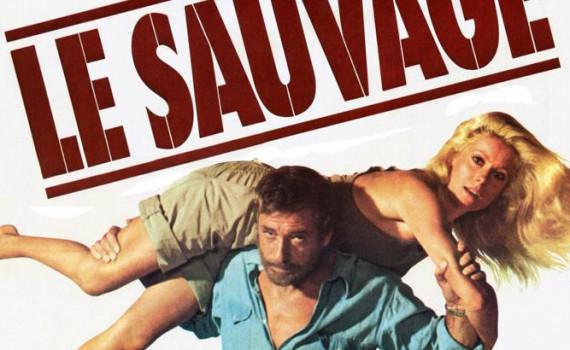 """Affiche du film """"Le sauvage"""""""