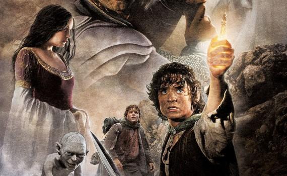 """Affiche du film """"Le Seigneur des Anneaux III - Le Retour du Roi"""""""
