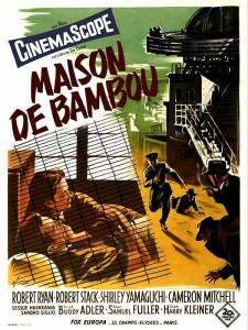 """Affiche du film """"La maison de bambou"""""""