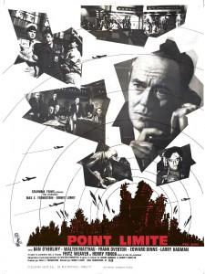 """Affiche du film """"Point limite"""""""