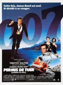 """Affiche du film """"Permis de tuer"""""""