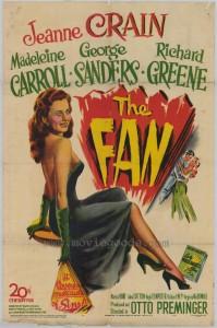 """Affiche du film """"The Fan"""""""