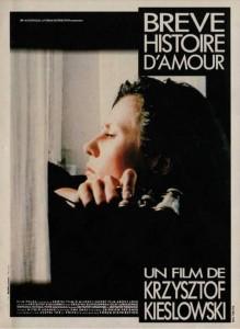 """Affiche du film """"Breve Histoire d'amour"""""""