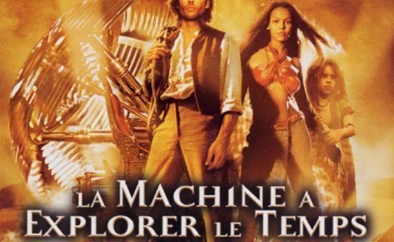 """Affiche du film """"La Machine à explorer le temps"""""""