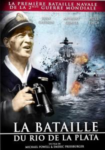 """Affiche du film """"La bataille du Rio de la Plata"""""""